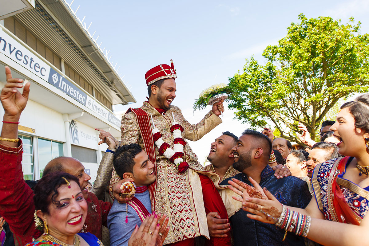 indian wedding photography at epsom downs racecourse